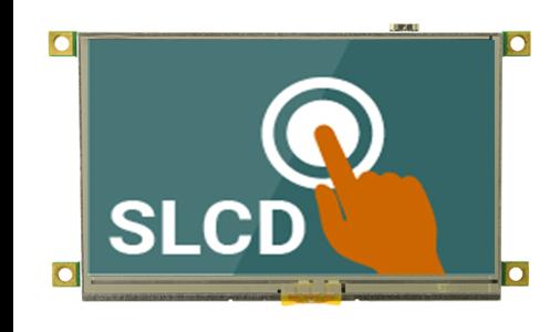 """4.3"""" SLCD"""